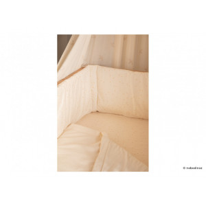 Drap housse Tibet • honey sweet dots natural 90 x 200
