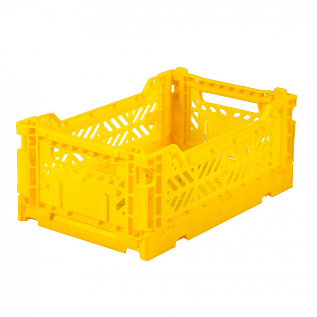 Caisse pliable - YELLOW - Medium