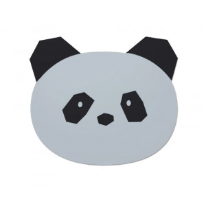 Set de Table Aura - Panda dumbo gris