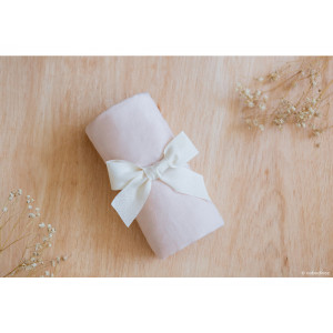 Drap housse couffin Melody • dream pink