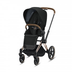 Poussette Priam 2019 châssis Rosegold - Siège luxe