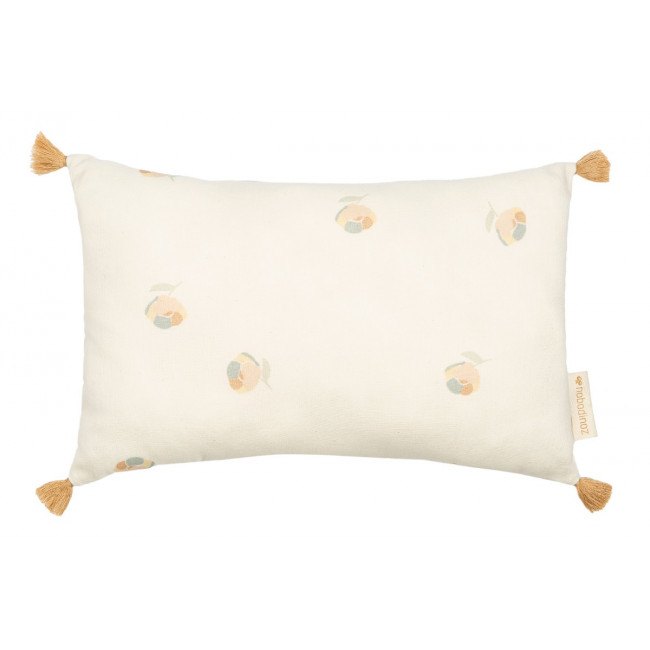 Coussin Sublim - Toffee sweat dots/Eden Green - 20x35