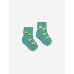 Chaussettes Chocolate Flowers Green