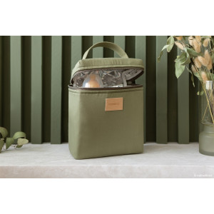 Lunchbag isotherme Baby on the go - Olive Green