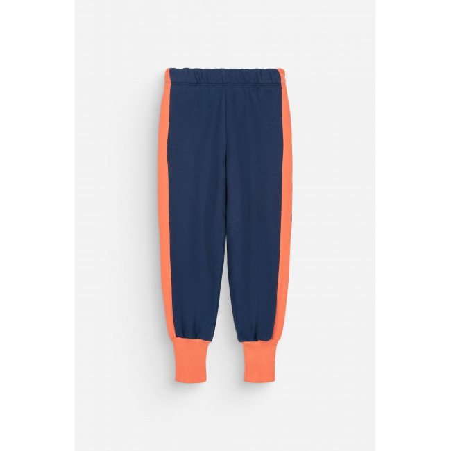 Jogging Charles Midnight Blue + Shiny Coral